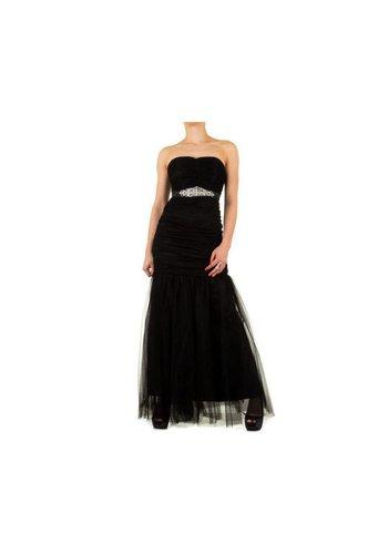 KIM&CO Trägerloses Abendkleid - schwarz