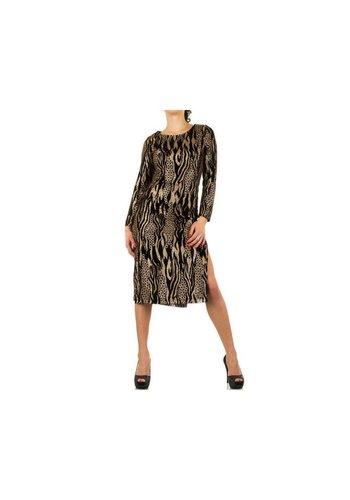 SHK MODE Robe Femme - Or