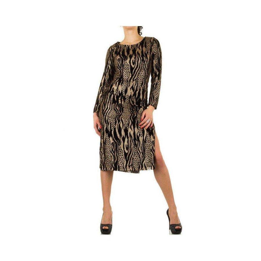 Damen Kleid - Gold