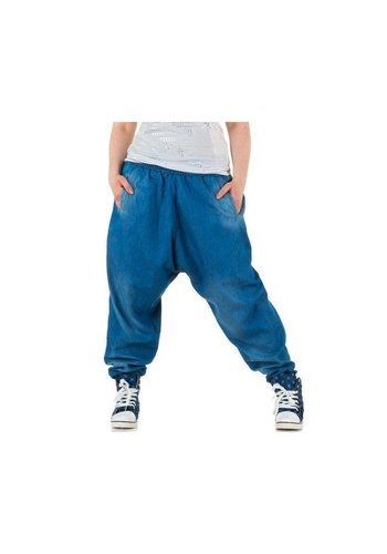 LE LYS Damen Harlem Jeans - L.blau