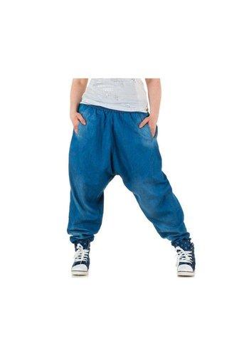 LE LYS Dames Harlem jeans - L.blauw
