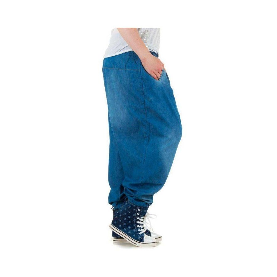 Damen Harlem Jeans - L.blau