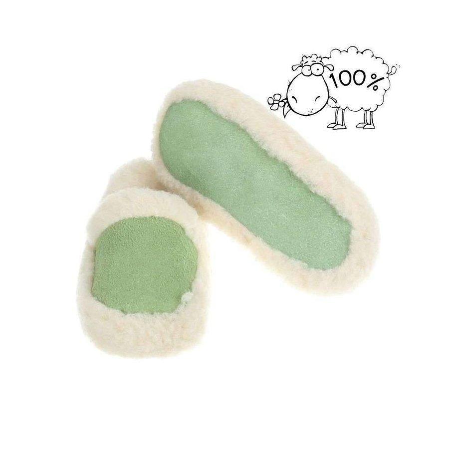 Damen Hausschuhe - grün