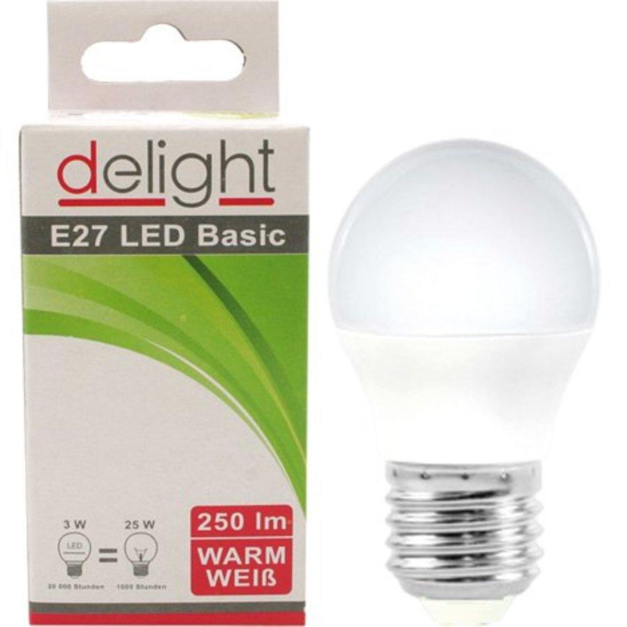 LED Birne Delight 3Watt, E27 Sockel