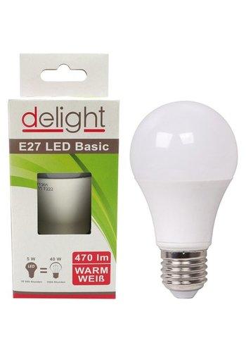 Delight LED Lampe Delight 5Watt, E27 passend