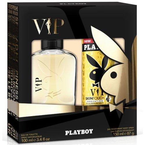 Playboy Playboy GP EDT 100ml + Désodorisant Coffret VIP 150ml