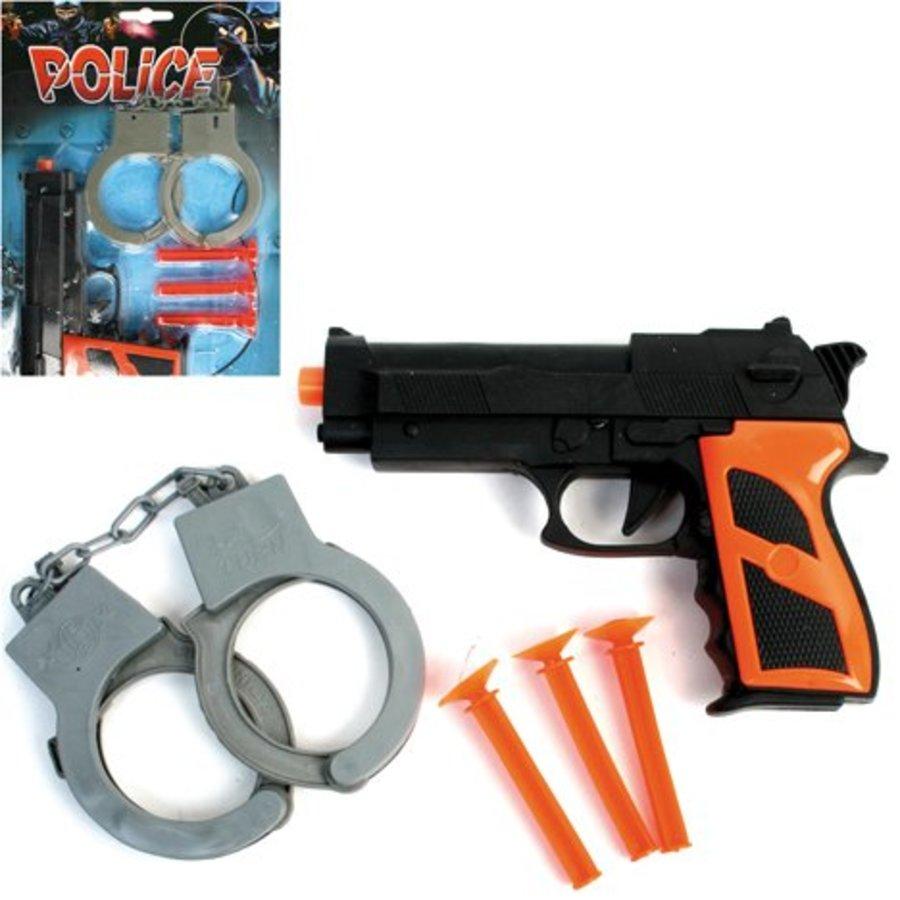 Spielzeug Polizei Set, 5 Stück 29x13cm