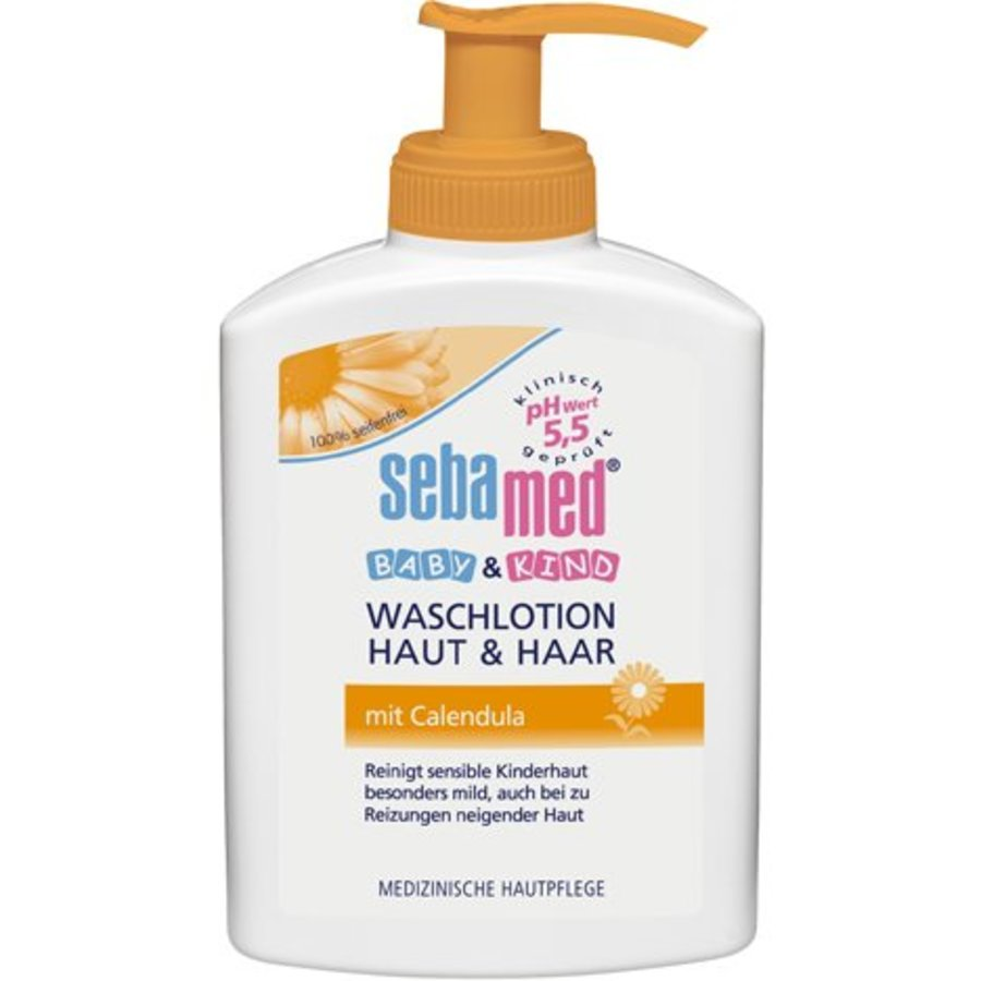 Sebamed Baby Waschlotion 200ml Calendula Haut und