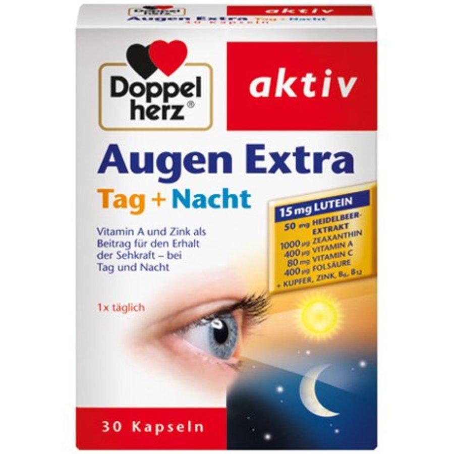Augen stärken zusätzliche Tag + Nacht 30 Kapseln sehen scharf Tag und Nacht