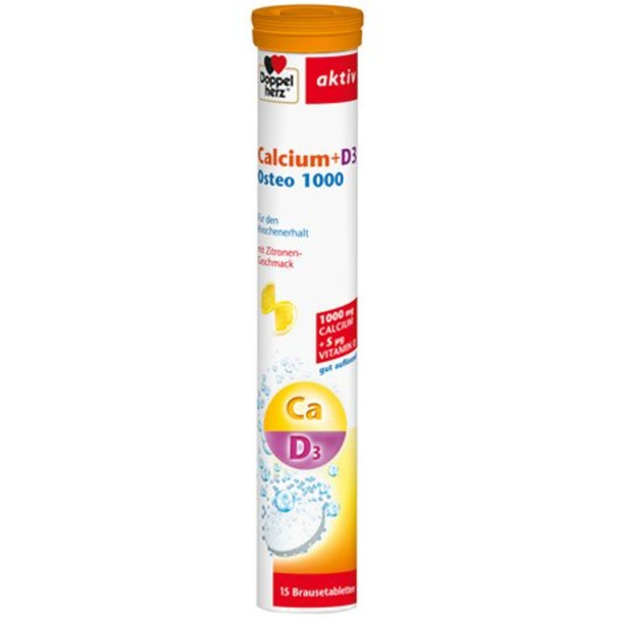 Calcium + D3 Osteo 1000 15 Stück Brausetablette