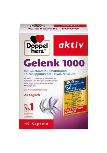 Dubbel Hart gewricht actieve  Vitamine 1000 40 capsules