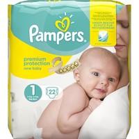 Premium Protection New Baby Größe1 und 22 Stück