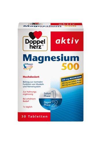 Doppelherz Magnésium 500 2-Phase 30 comprimés