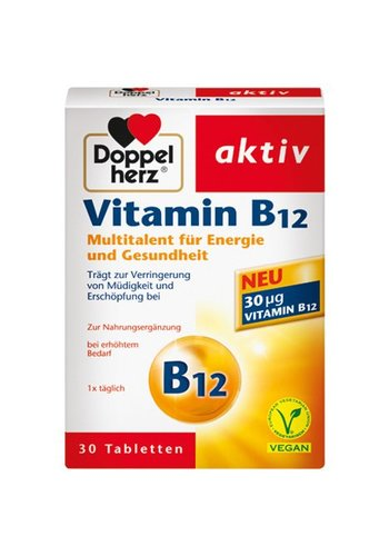 Doppelherz Vitamine B12 30 Comprimés