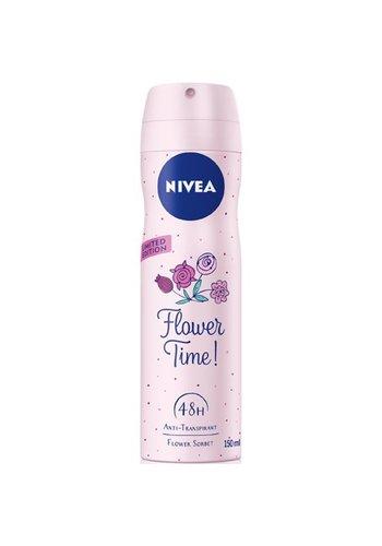 Nivea Nivea Deospray Bloemen tijd  van 150 ml