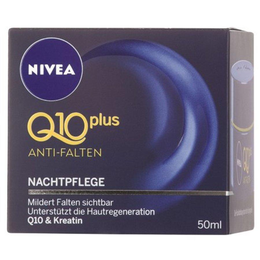 Nivea Visage Q10 Pl. 50ml Anti-Falten Nachtcreme