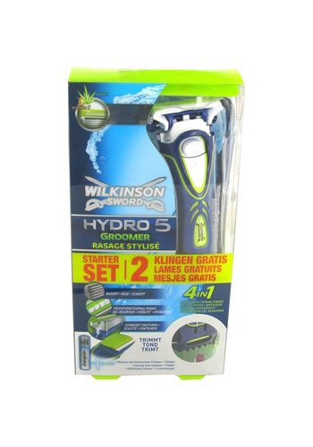 Wilkinson Wilkinson Hydro5 Groomer Scheermes  incl 3 mesjes elektrische