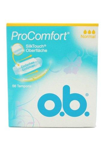 o.b. O.B. Tampons Pro Comfort normal 56er