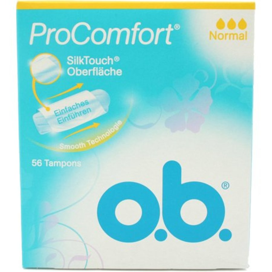 O.B. Tampons Pro Comfort normal 56er