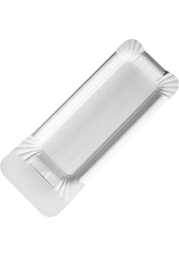 Neckermann assiette en papier jetable 20 pièces avec poignée 21x8cm