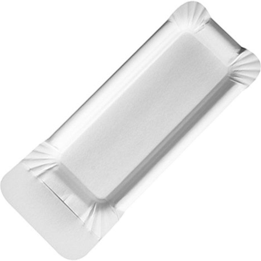 Einwegplatte Pappteller 20 Stück mit Griff 21x8cm