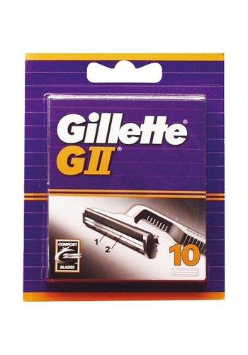Gillette Gillette G II 10 Stuks