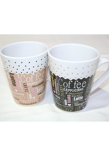 Neckermann Kaffeebecher Kaffee-Design 250ml
