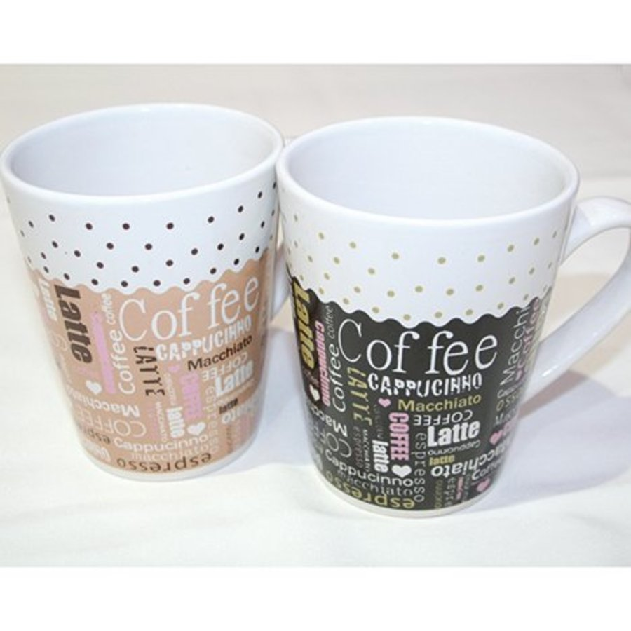 Kaffeebecher Kaffee-Design 250ml