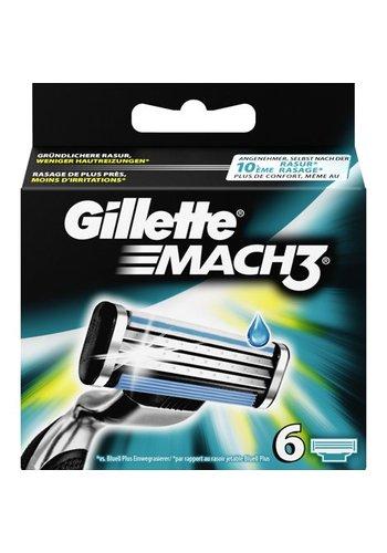 Gillette Gillette Mach 3 Pack von 6
