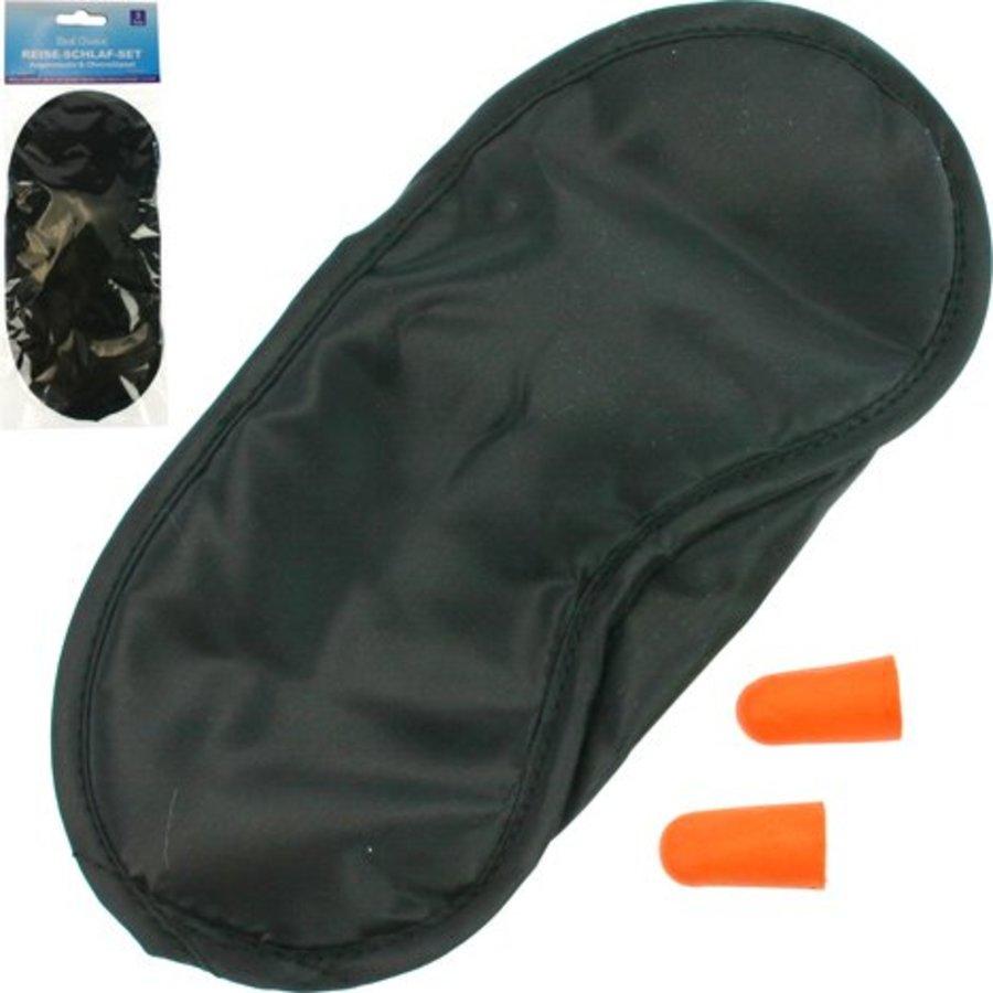 Reiseschlafset - Maske + zwei Ohrhörer