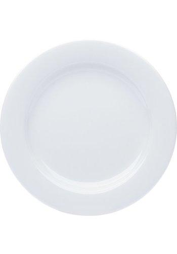 Neckermann Porzellan Teller flach weiß 27cm