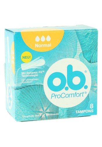 O.B. Pack de 8 Tampons de Poche OB