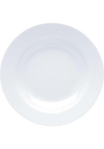 Neckermann Porzellan Suppenteller weiß 22x3cm