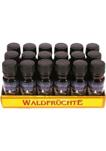 Huile parfumée - fruits forestiers - 10ml en flacon de verre