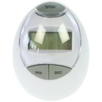 Kookwekker in eivorm met digitale display  - 7x5 cm