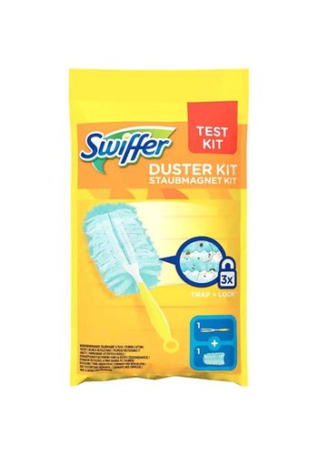 Swiffer Starterpaket mit Staubmagnet (Griff + 1 Tuch)