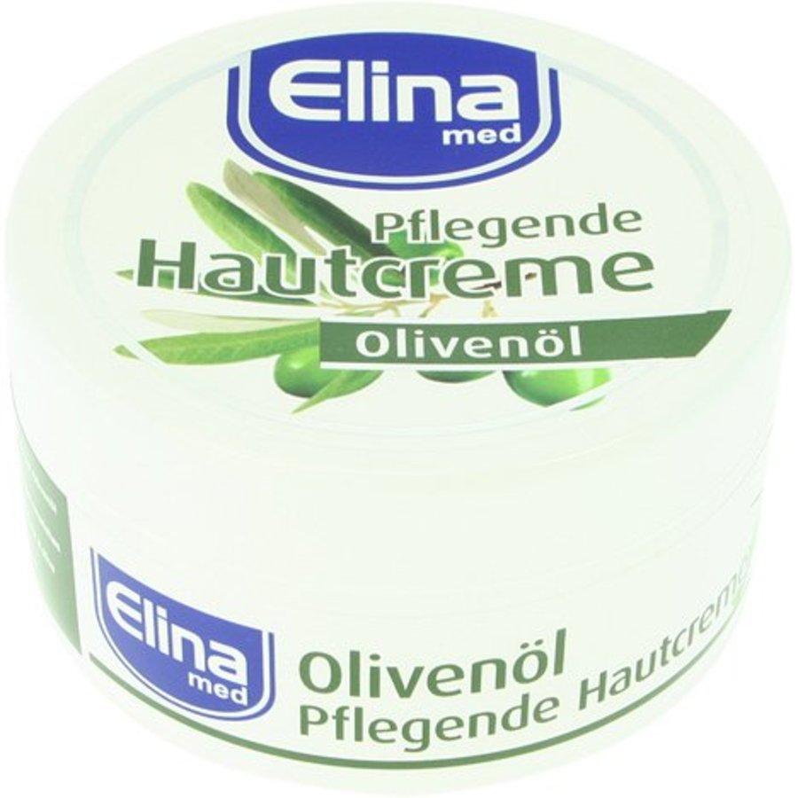 Elina Olive Hautpflegecreme 150ml in einem Glas