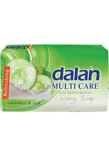 Dalan Zeep DALAN 75 g Multi Care komkommer en melk