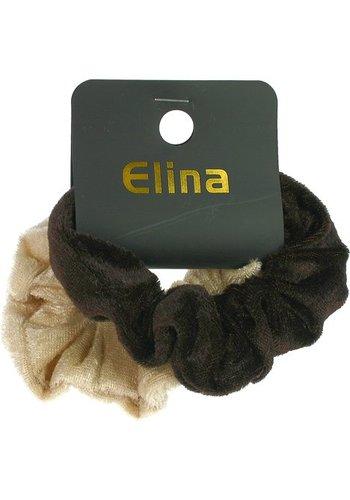 Samtkopf und Haarband, 2er Set, verschiedene Farben, 9x3cm
