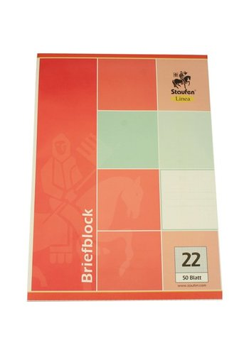 Staufen Schrijf Block DIN A4 50 Bl. Grote ruit