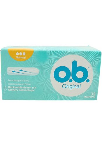 O.B. Tampons OB normalement 32 pièces