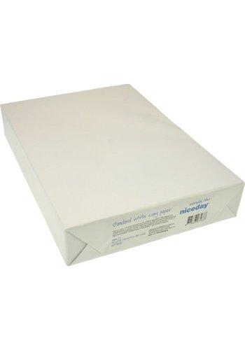 Nice Day Kopierpapier White Woodfree A4 80 gr DIN A4 Packung à 500 Blatt