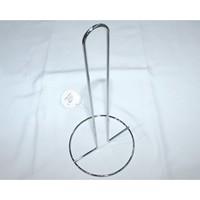 Küchenrollenhalter verchromt 30x14cm