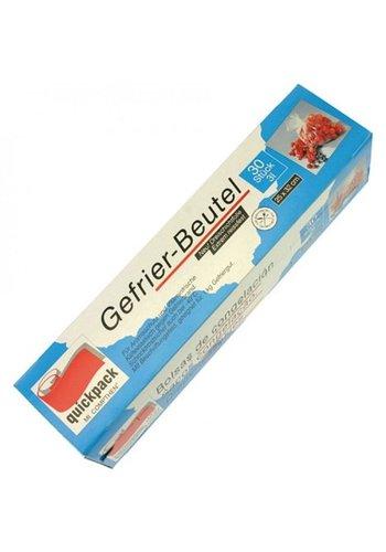 Quickpack Gefrierbeutel 3l 30s 32x25cm