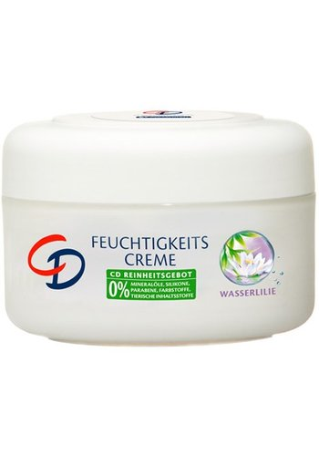 CD Vochtigheids creme 200ml hydraterende waterlelie