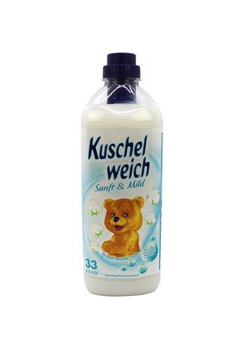 Kuschelweich Assouplissant 990ml doux et doux
