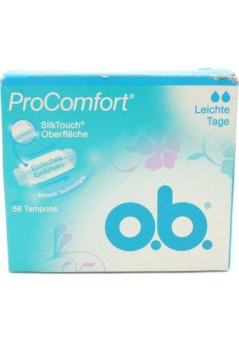 O.B. Tampons Pro Comfort Lichte dagen 56 stuks