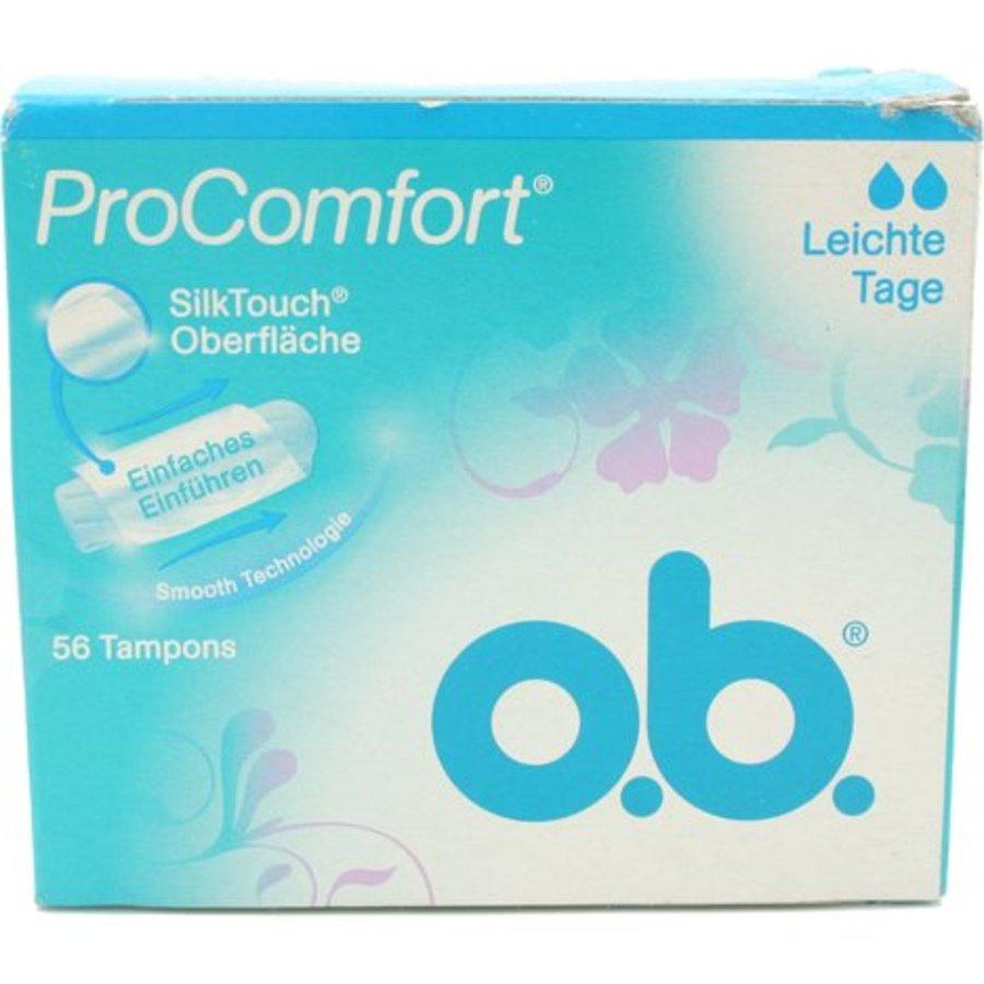 Tampons Pro Comfort Light Tage 56 Stück