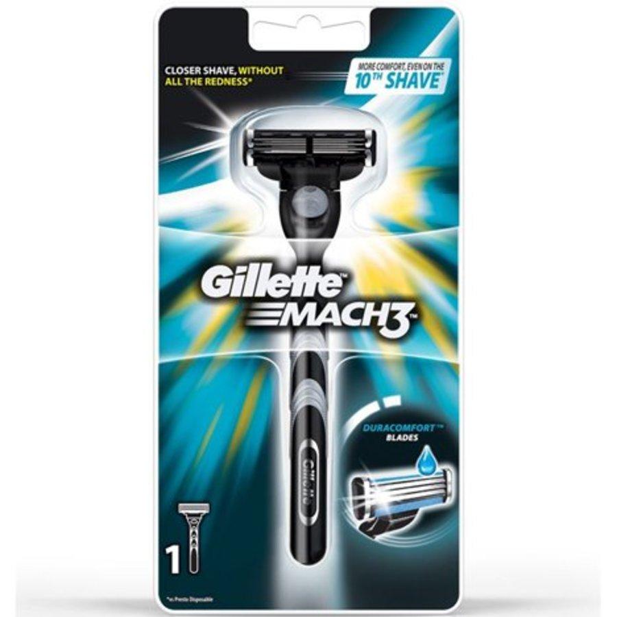 Gillette Mach 3 Rasiersystem mit Klinge SALE