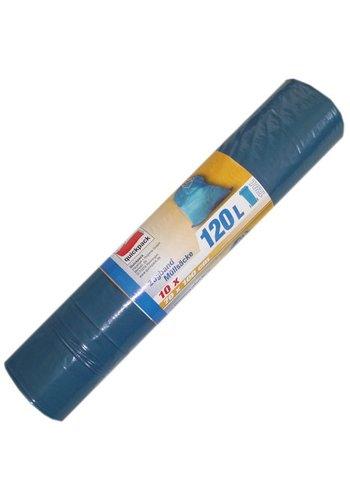 Quickpack Vuilniszakken 120L 10 stuks met koord 70x100cm